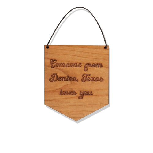 Wood Banner - CUSTOM - Local Love