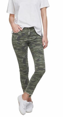 Mud Pie ~ RORY DENIM JEANS IN GREEN CAMO