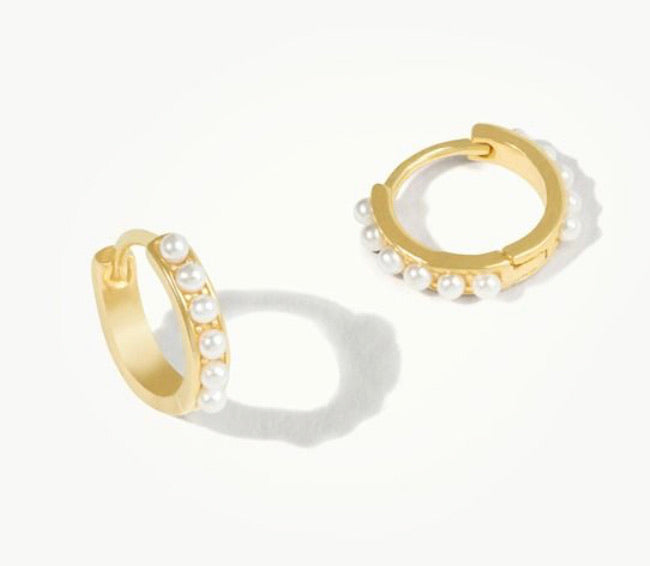 Spartina ~ DELICATE HUGGIE HOOP EARRINGS