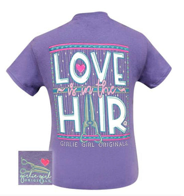 LOVE IS IN THE HAIR TEE