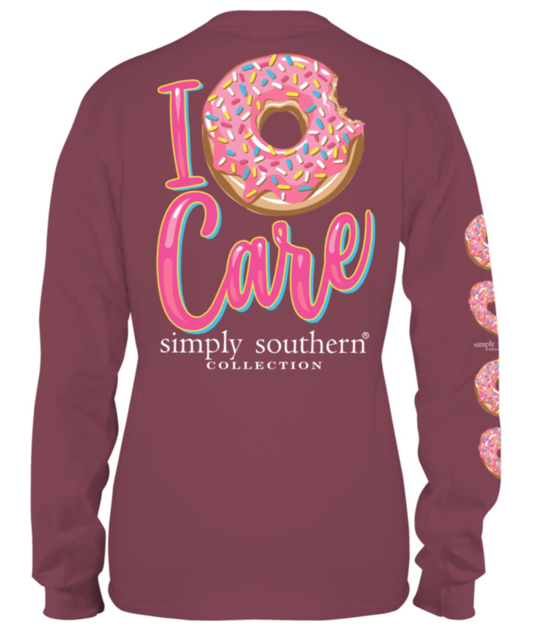 Simply Southern ~ I DONUT Care