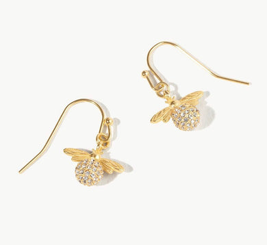Spartina ~ Sparkly Bee Drop Earrings