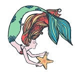 Southernology ~ Mermaid Decal