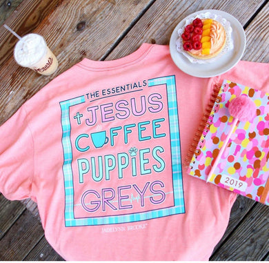 Greys Anatomy ~ Jesus, Coffee, Puppies and Grey