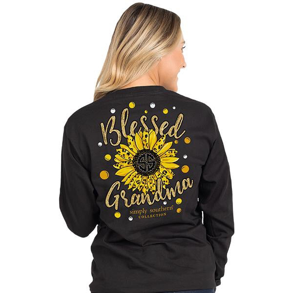 Simply Southern ~ Long Sleeve Blessed Grandma