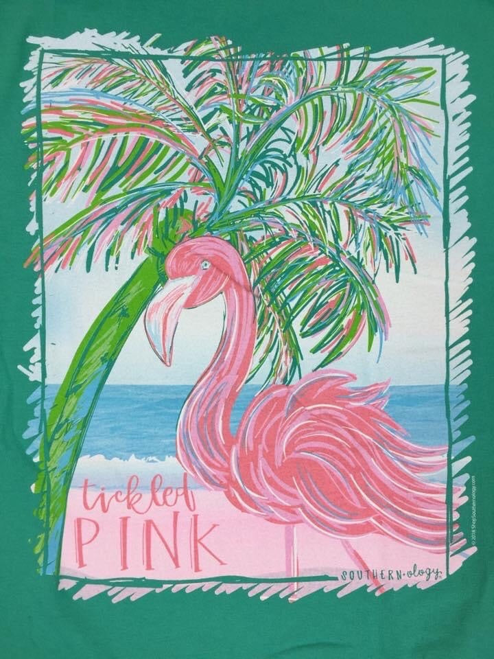 Southernology ~ Flamingo Short sleeve