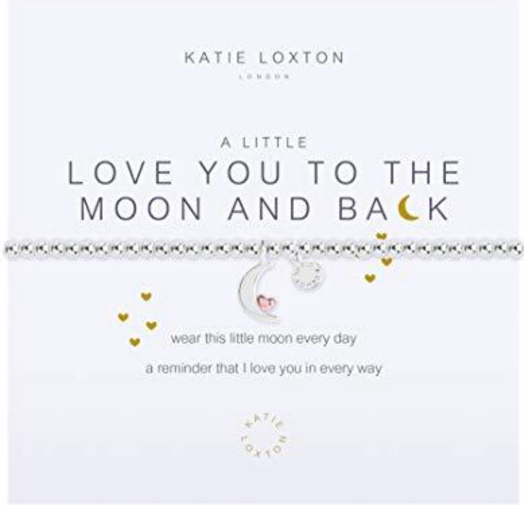 Katie Loxton ~ Love you to the Moon and Back Bracelet
