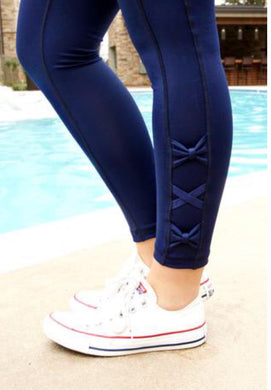 JLB ~ Navy Leggings