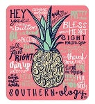 Southernology ~ Pineapple Decal