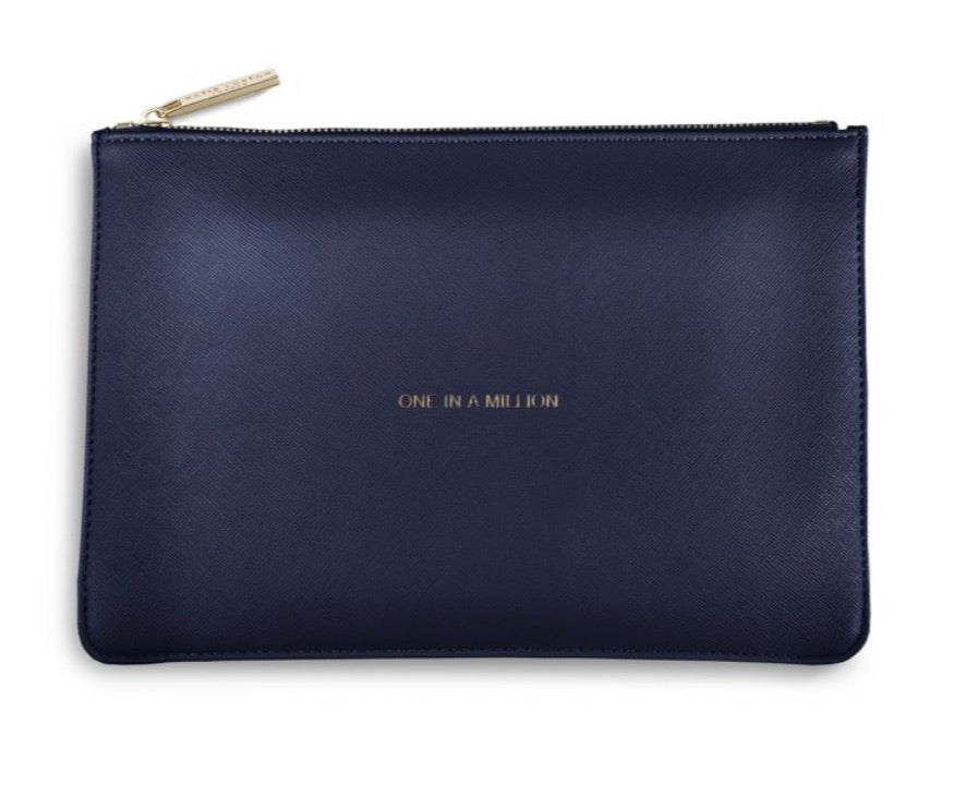 Katie Loxton ~ PERFECT POUCH | ONE IN A MILLION | NAVY