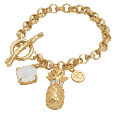 Spartina ~ Pineapple Toggle Bracelet