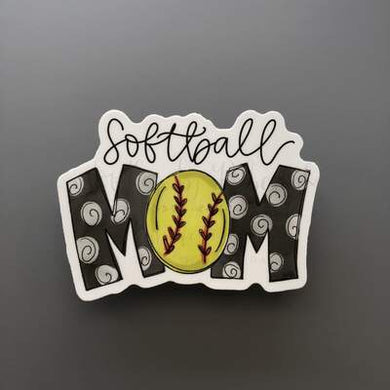 Doodles by Rebekah ~ Softball Mom
