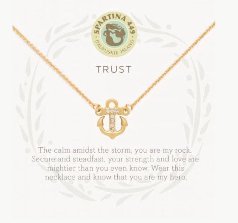 Spartina ~ Trust Necklace
