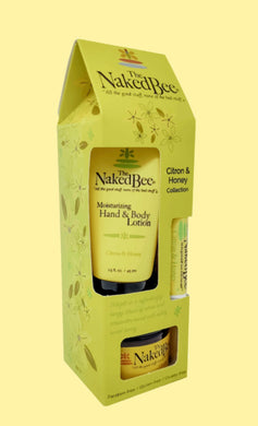 Naked Bee ~ Citron & Honey Gift Collection