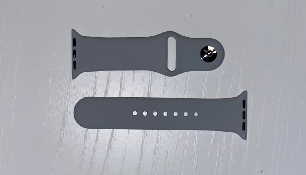 Grey Sport Watch Band