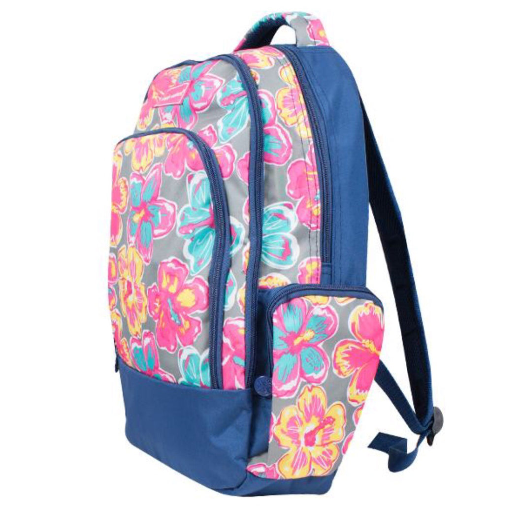 Simply Southern Backpack ~ Hibiscus Flower
