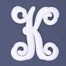 Simply Southern Iron-On Letter ~ White