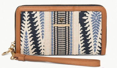 Spartina ~ Boho Fringe Wallet Lighthouse