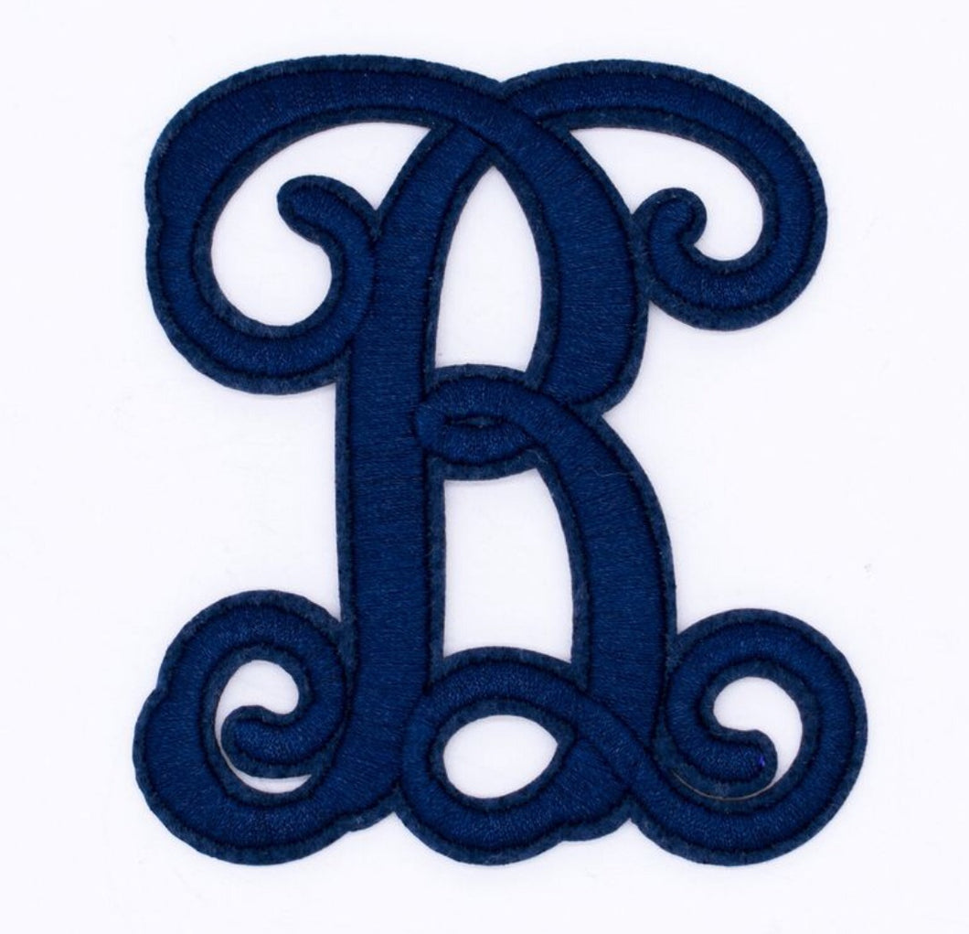 Simply Southern Iron-On Letters ~ Navy