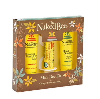 Naked Bee ~ Orange Blossom Honey Mini Bee Kit