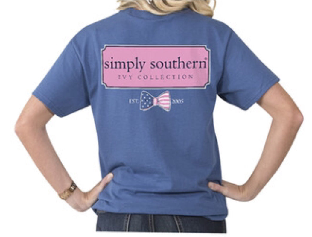 Simply Southern ~ Stars and Strips Bow