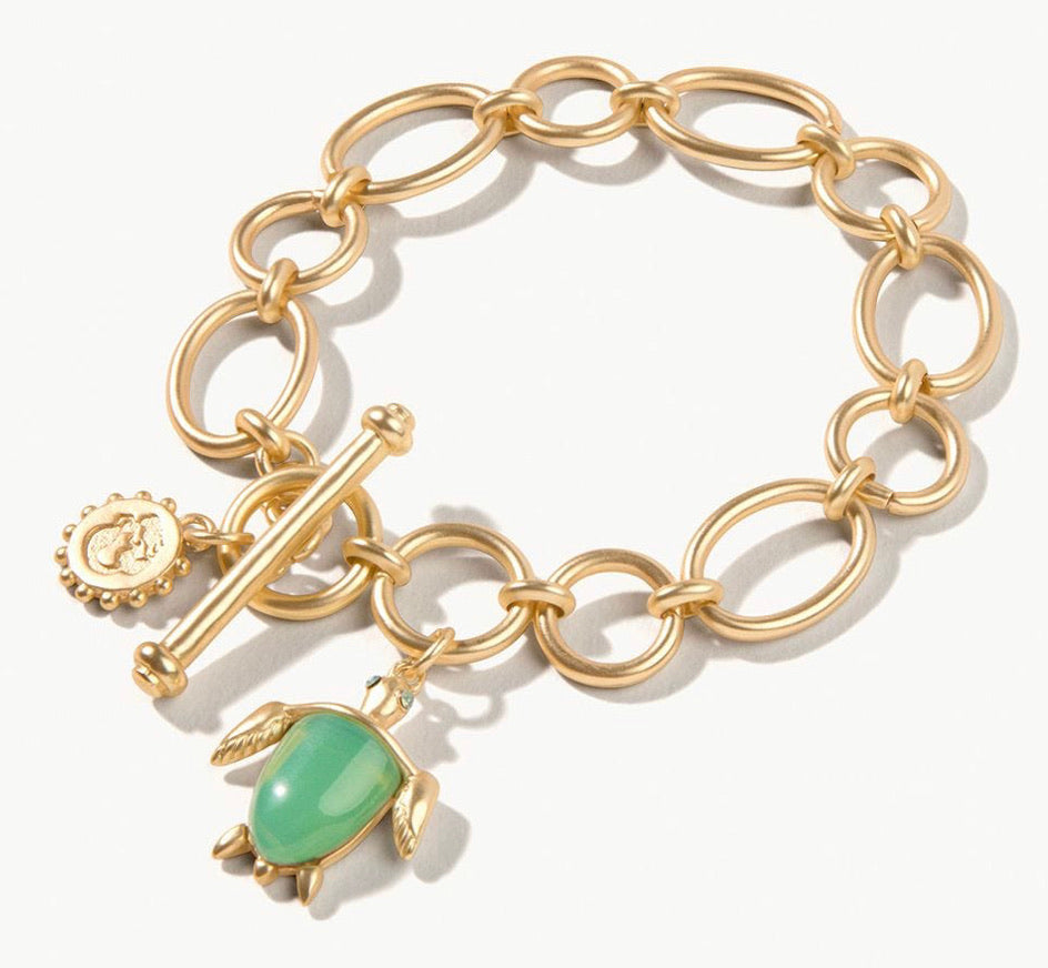 Spartina ~ Sea Turtle Toggle Bracelet
