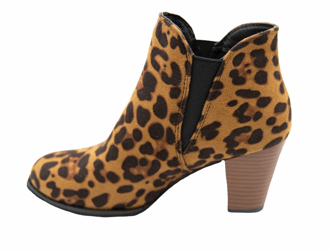 Simply Southern ~ Bootie Heel Cheetah