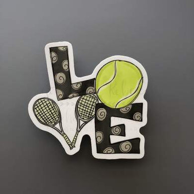 Doodles by Rebekah ~ Tennis Love