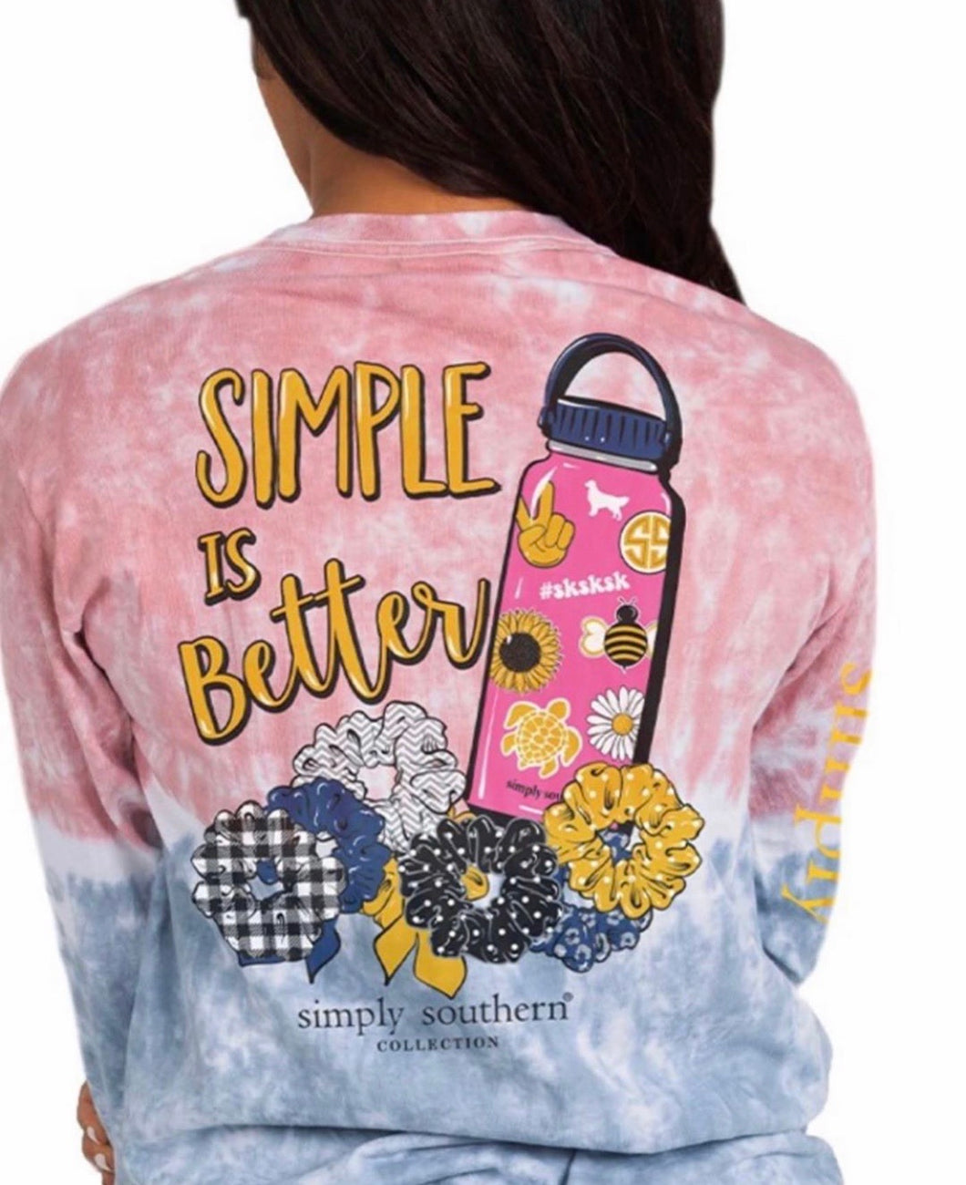 Simply Southern ~ Visco girls long sleeve