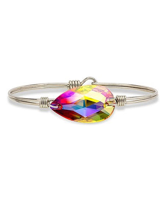 Luca + Danni ~ Fire Teardrop Bangle Bracelet