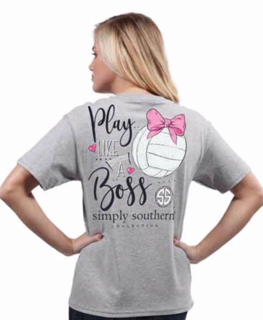 Simply Southern ~ Play like a Boss Volleyball