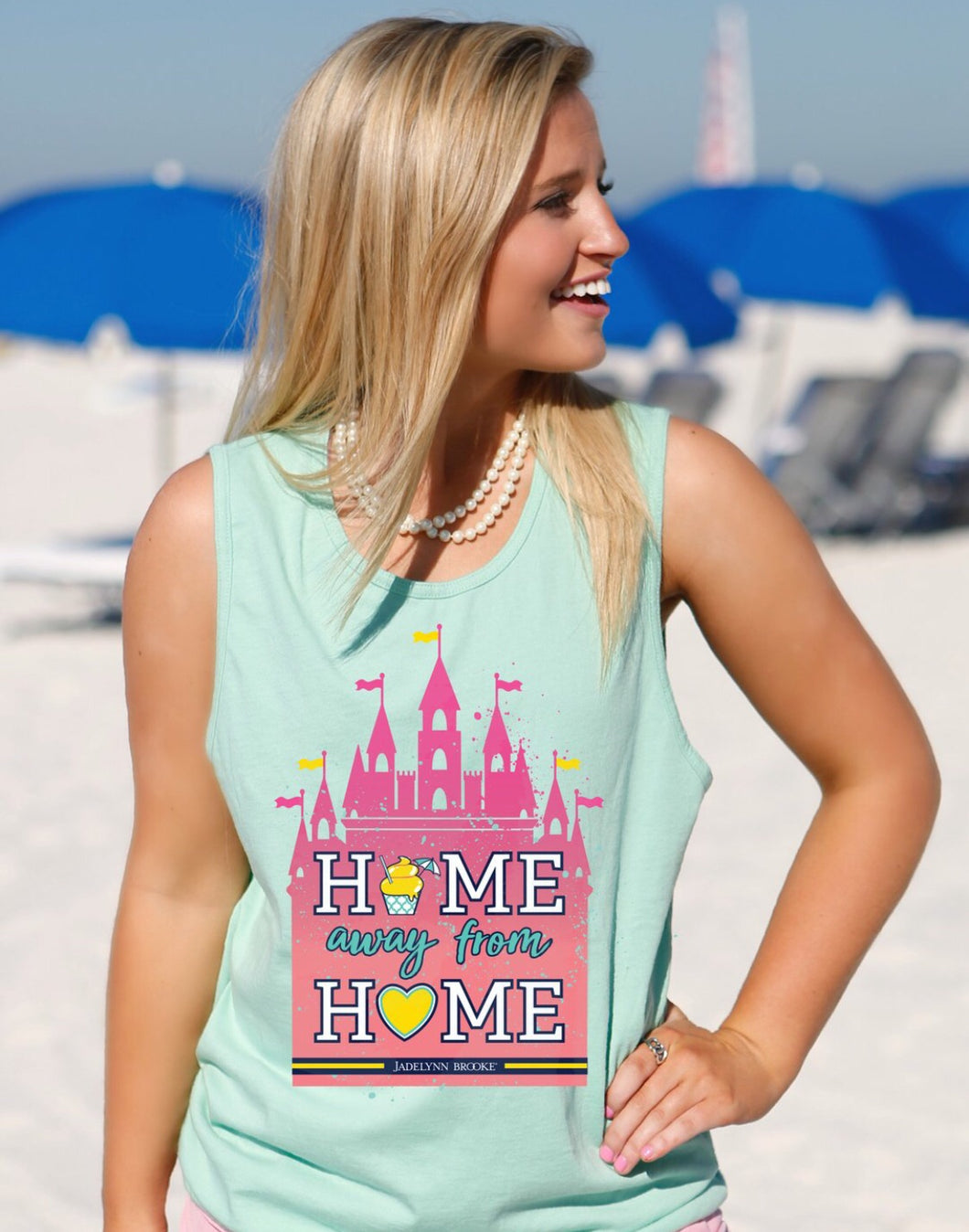 JLB ~ Disney Home away from Home tank top