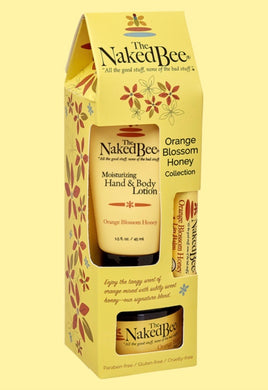 Naked Bee ~ Orange Blossom Honey Gift Collection