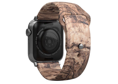 Groove Life Watch Band ~ Burled Walnut