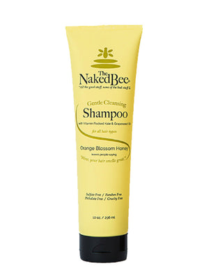 Naked Bee ~ Orange Blossom Honey Gentle Cleansing Shampoo - 10oz