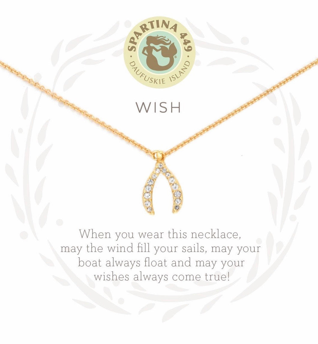Spartina ~ Wish Necklace