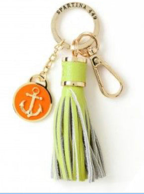 Spartina ~ Anchor Yacht Club Keychain