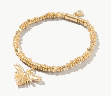 Spartina ~ Bee Stretch Bracelet