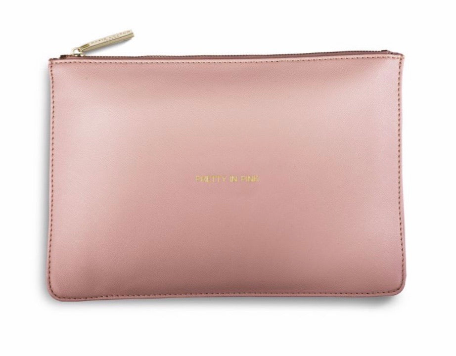Katie Loxton ~ PERFECT POUCH | PRETTY IN PINK | SOFT PINK