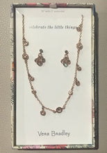 Vera Bradley ~ Sparkle Necklace and Earring Set
