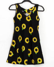 Simply Southern ~ Toddler Sunflower Cross Back Dress