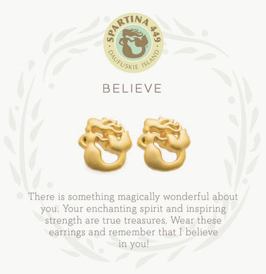 Spartina ~ Believe/Mermaid Earrings