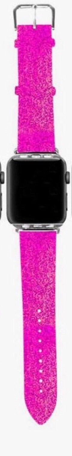Simply Southern ~ Pink Holographic Watch Band