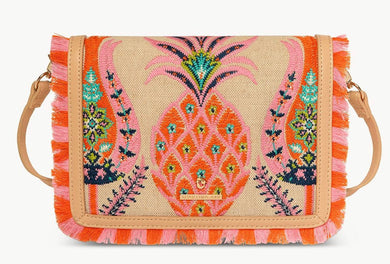 Spartina ~ Kaia Pineapple Clutch Crossbody