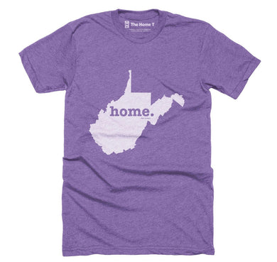 West Virginia ~ Home Tee Purple