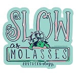 Southernology ~ Slow as Molasses Decal