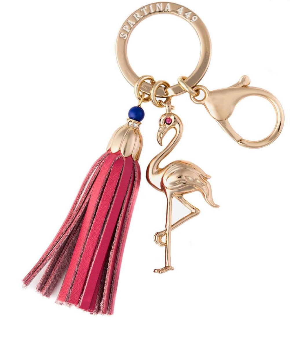 Spartina ~ Flamingo Keychain
