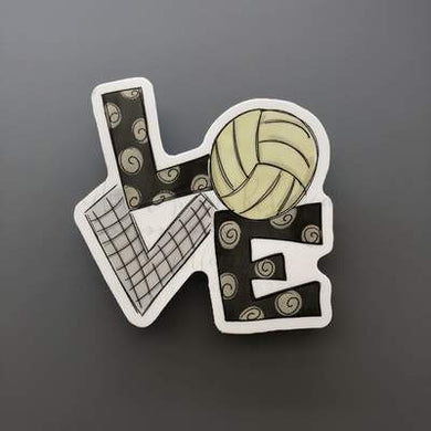 Doodles by Rebekah ~ Volleyball Love