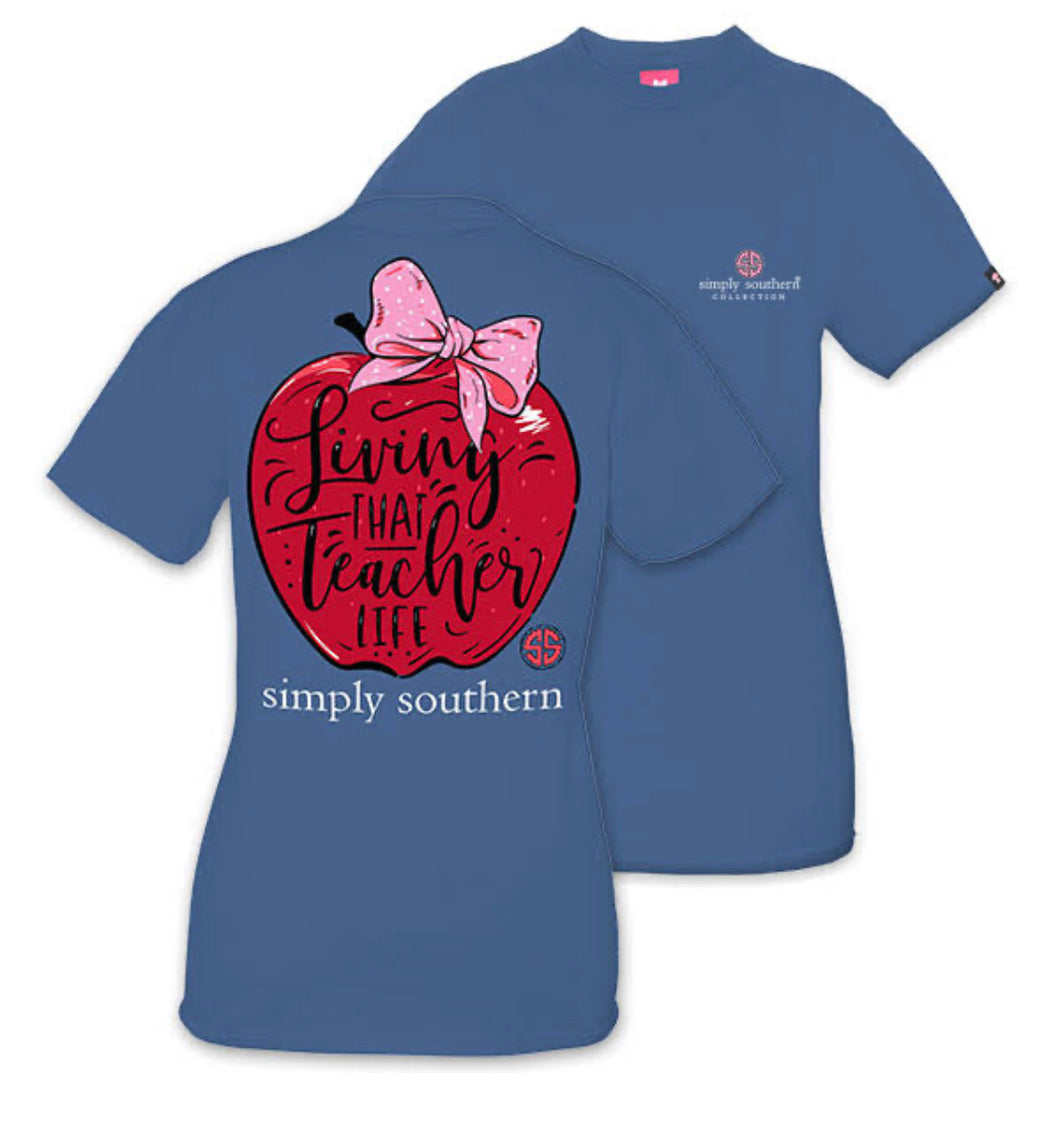Simply Southern ~ Teacher Apple