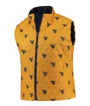 West Virginia Reversible Puffer Vest